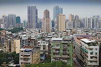 Chine, Macao, vue generale de la ville // China, Macau, cityscape