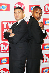 © Licensed to London News Pictures. 09/09/2013, UK.  Ricky Norwood; Wil Johnson, TV Choice Awards, The Dorchester Hotel, London UK, 09 September 2013 Photo credit : Richard Goldschmidt/Piqtured/LNP