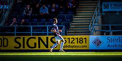 Falkirk's Luke Leahy.<br /> Falkirk 2 v 1 Alloa Athletic, Scottish Championship game played 4/10/2014 at The Falkirk Stadium.