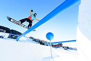 Mons Roisland during Men's Snowboard Slopestyle Practice at during 2017 X Games Norway at Hafjell Alpinsenter in Øyer, Norway. ©Brett Wilhelm/ESPN