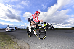 March 7, 2018 - Saint Etienne, France - SAINT-ETIENNE, FRANCE - MARCH 7 : WELLENS Tim  (BEL)  of Lotto Soudal during stage 4 of the 2018 Paris - Nice cycling race, an individual time trial over 18,4 km from La Fouillouse to Saint-Etienne on March 07, 2018 in Saint-Etienne, France, 07/03/2018 (Credit Image: © Panoramic via ZUMA Press)