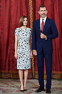 060915 Spanish Royals host a lunch to the President of the Republic of Paraguay, Mr. Horacio Cartes