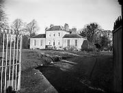"25/01/1959<br /> 01/25/1959<br /> 25 January 1959<br /> ""The Shrubbery"", Kilcock, Co. Kildare, home of George Vanda Paul Barnett, English tax evader (£17,000)."