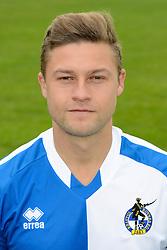 James Clarke of Bristol Rovers - Mandatory byline: Dougie Allward/JMP - 07966386802 - 03/08/2015 - FOOTBALL - Bristol Rovers Training Ground -Bristol,England - Bristol Rovers Headshots