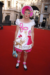 GRAYSON PERRY  at the Royal Academy of Art Summer Exhibition Preview Party on 4th June 2008.<br /><br />NON EXCLUSIVE - WORLD RIGHTS