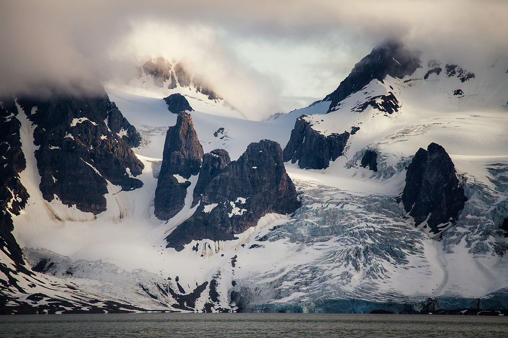 Mountains of Prins Karls Forland, Spitsbergen