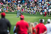 Jordan Spieth checks his notes on the green during the final round of the AT&T Byron Nelson in Las Colinas, Texas on May 31, 2015. (Cooper Neill for The New York Times)