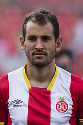 August 15, 2017 - Girona, Spain - Portrait of Christian Stuani from Uruguay of Girona FC during the Costa Brava Trophy match between Girona FC and Manchester City at Estadi de Montilivi on August 15, 2017 in Girona, Spain. (Credit Image: © Xavier Bonilla/NurPhoto via ZUMA Press)