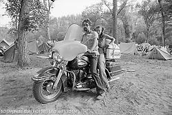 Young Couple on Dresser, City Park, Sturgis, South Dakota, 1980<br /> <br /> Limited Edition Print from an edition of 50. Photo ©XXXX Michael Lichter.<br /> <br /> Description: BLURB