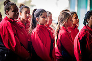 Wellington, NZ. 04.07.2016. Māori Language Week celebration. Powhiri at Te Papa. Photo credit: Stephen A'Court.  COPYRIGHT ©Stephen A'Court