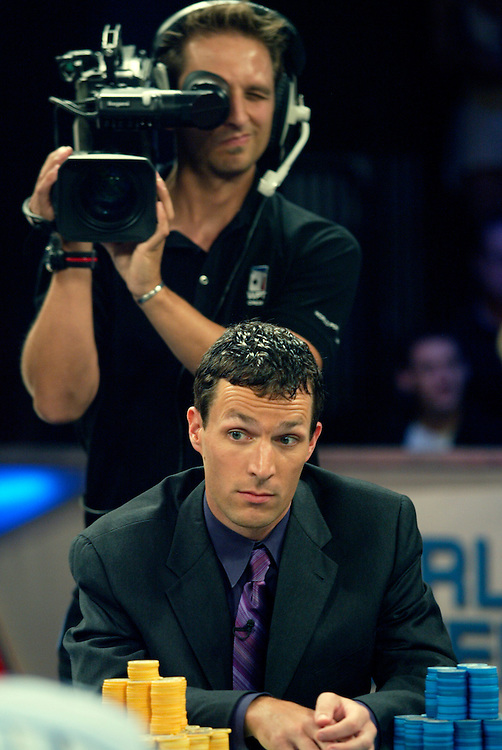 September 2, 2003: Paul Phillips during final round at the World Poker Tour event at the Bicycle Club in Los Angeles.