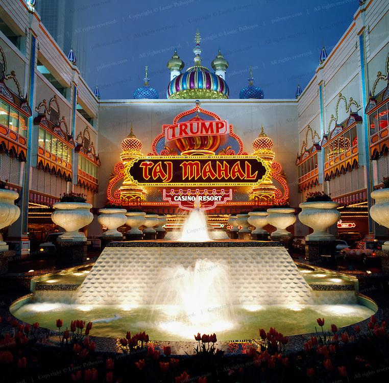 The Trump Taj Mahal Hotel in Atlantic City.
