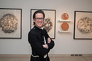 ADAM BALL, The George Michael Collection drinks.  Christie's, King St. London, 12 March 2019