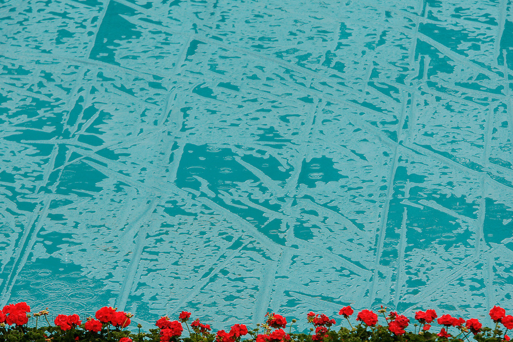 Tuesday May 27th 2008. Roland Garros. Paris, France..It's a raining day... ..