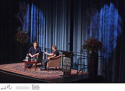 Norwegian author Jo Nesbo speaks at Writers & Readers Week, as part of the New Zealand International Arts Festival.