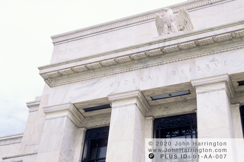 The Federal Reserve Building, Washington DC.