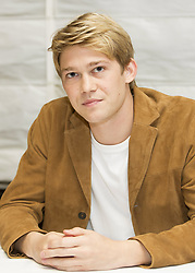 October 15, 2016 - New York, New York, U.S. - Joe Alwyn stars in the movie Billy Lynn's Long Halftime Walk. Joe is a British Actor and was picked by Ang Lee from obscurity to take the title role of Billy Lynn in what will be his acting debut. (Credit Image: © Armando Gallo via ZUMA Studio)