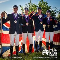 Friday 23 August - Social Media Images - Team GBR - FEI European Championships 2019 - Rotterdam