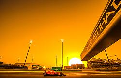 November 25, 2017 - Abu Dhabi, United Arab Emirates - Sebastian Vettel of Germany and Ferrari Team driver goes during the third practice at Formula One Etihad Airways Abu Dhabi Grand Prix on Nov 25, 2017 in Yas Marina Circuit, Abu Dhabi, UAE. (Credit Image: © Robert Szaniszlo/NurPhoto via ZUMA Press)