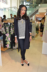 SARAH-JANE CRAWFORD at a party to celebrate the launch of French Connection's #CANTHELPMYSELFIE -The UK's first in-store interactive selfie booths and windows held at French Connection, 249-251 Regent Street, London on 15th April 2014.
