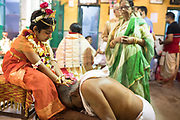 On the day day irrespective of age and sex everyone wish for her blessing and don't even hesitate to touch her feet. It's very odd in a normal day.<br /> Female foeticide is still a burning problem in most of the Indian states. Even after so many years of independence, India still remains largely a patriarchal society with dark pockets of ignorance and superstition where excessive religious orthodoxy continues to victimise women.