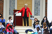 """Mrs. Lynne Cheney, the wife of former Vice President Dick Cheney, and author of several books, including """"We the People: The Story of Our Constitution,"""" spoke at James Madison's Montpelier Estate celebrating Constitution Day Sept. 17, 2009 in Orange VA. Photo/Andrew Shurtleff"""