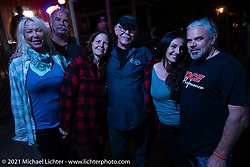 Steve Broyles, Dan Toce and friends at theTennessee Motorcycles and Music Revival at Loretta Lynn's Ranch. Hurricane Mills, TN, USA. Saturday, May 22, 2021. Photography ©2021 Michael Lichter.