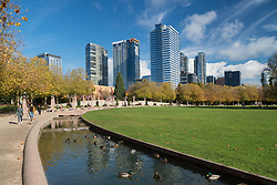 United States, Washington, Bellevue, Bellevue Downtown Park