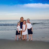 Alison Parrella Family, Moms 65th Birthday Party. Pawleys Island, SC