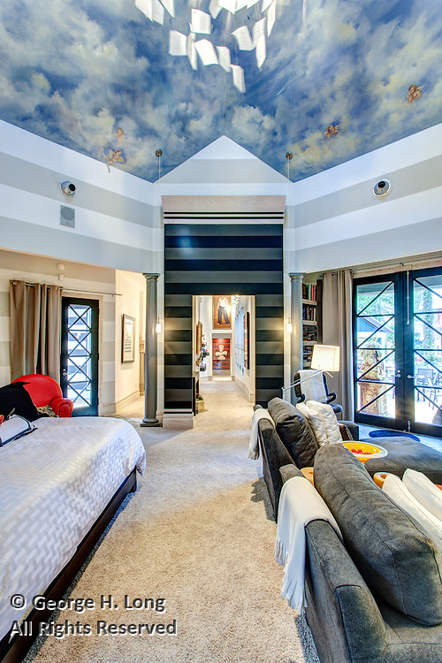 Residence of architect Ron Blitch; Abita Springs, Louisiana
