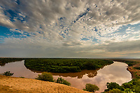 Omo River near Dus village, Omo Valley,  Southern Nations Nationalities and People's Region, Ethiopia.