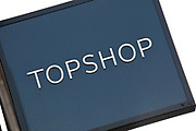 Sign for clothing shop Topshop.