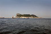 Spanje, Gibraltar, 25-9-2017De rots is een historisch en strategisch punt. Geschiedenis, koude oorlog.Britse kroonkolonie. Spanje wil de rots terug.Foto: Flip Franssen