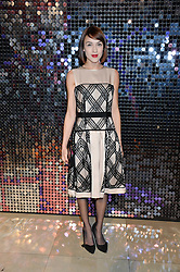 ELLA CATLIFF at a private view of Isabella Blow: Fashion Galore! held at Somerset House, London on 19th November 2013.