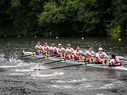 Henley Royal Regatta, Henley on Thames, Oxfordshire, 28 June - 2 July 2017.  Wednesday  09:36:07   28/06/2017  [Mandatory Credit/Intersport Images]<br /> <br /> Rowing, Henley Reach, Henley Royal Regatta.<br /> <br /> The Thames Challenge Cup<br />  Kingston Rowing Club