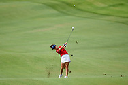 Emma Talley (USA) hits her approach shot on 2 during round 2 of the 2020 ANA Inspiration, Mission Hills C.C., Rancho Mirage, California, USA. 9/11/2020.<br /> Picture: Golffile | Ken Murray<br /> <br /> All photo usage must carry mandatory copyright credit (© Golffile | Ken Murray)