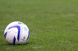 General view of a Mitre matchball - Photo mandatory by-line: Joe Dent/JMP - Tel: Mobile: 07966 386802 19/10/2013 - SPORT - FOOTBALL - London Road Stadium - Peterborough - Peterborough United V Shrewsbury Town - Sky Bet League One