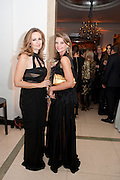 LUCY YEOMANS; NATALIE MASSENET, Harper's Bazaar Women Of the Year Awards 2011. Claridges. Brook St. London. 8 November 2011. <br /> <br />  , -DO NOT ARCHIVE-© Copyright Photograph by Dafydd Jones. 248 Clapham Rd. London SW9 0PZ. Tel 0207 820 0771. www.dafjones.com.