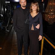 Uitreiking Starstyle awards, Sidnie Brandeis en vrouw Playboy model Klarissa Patijn