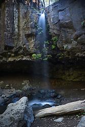 Hedge Creek Falls, Shasta Retreat, Dunsmuir, California, US