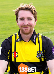 Tom Smith of Gloucestershire Cricket poses for a headshot in the Royal London One Day Cup kit - Mandatory by-line: Robbie Stephenson/JMP - 04/04/2016 - CRICKET - Bristol County Ground - Bristol, United Kingdom - Gloucestershire  - Gloucestershire Media Day