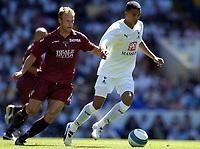Photo: Olly Greenwood.<br />Tottenham Hotspur v Torino. Pre Season Friendly. 04/08/2007. Jermanie Jenas and Cesare Natali