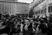 Luigi Di Maio. Deputati del Movimento 5 Stelle presentano alla stampa il loro programma per le Elezioni politiche 2018. Piazza Montecitorio, Roma 7 dicembre 2017. Christian Mantuano / OneShot<br /> <br /> Luigi Di Maio. Deputies from the Five Stars Movement present their political program for the upcoming general elections in Italy. Montecitorio square, Rome 7 December 2017. Christian Mantuano / OneShot