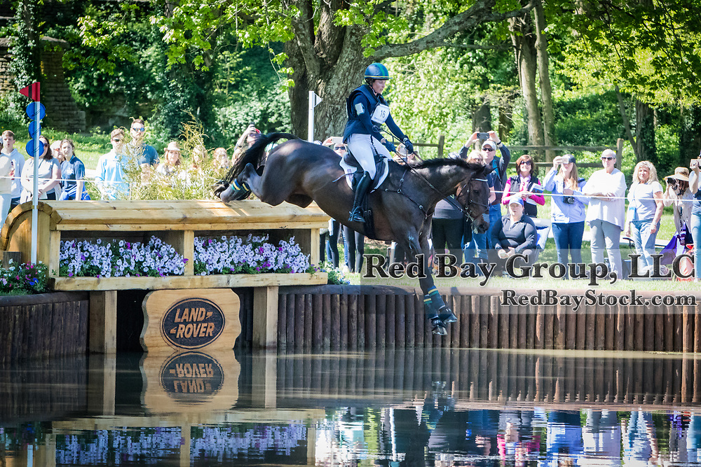 Lillian Heard (USA) and LCC Barnaby during the cross-country at the 2019 Land Rover Kentucky Three-Day Event presented by MARS EQUESTRIAN in Lexington, Kentucky