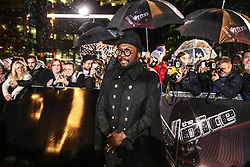Coach Will.Iam poses on the red carpet before the Blind Auditions begin for the new series of  The Voice on ITV.