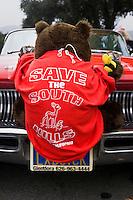 Save the South Hills Environmental Activism T-Shirt, Glendora, California