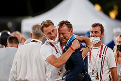 Fredricson Peder, SWE, Houtzager Mark, NED<br /> Olympic Games Tokyo 2021<br /> © Hippo Foto - Dirk Caremans<br /> 07/08/2021