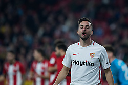 January 16, 2019 - Sevilla, Andalucia, Spain - Pablo Sarabia of Sevilla FC during the Copa del Rey match between Sevilla FC v Athletic Club at the Ramon Sanchez Pizjuan Stadium on January 16, 2019 in Sevilla, Spain (Photo by Javier Montaño/Pacific Press) (Credit Image: © Javier MontañO/Pacific Press via ZUMA Wire)