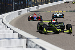 July 7, 2018 - Newton, Iowa, United States of America - CHARLIE KIMBALL (23) of the United States takes to the track to practice for the Iowa Corn 300 at Iowa Speedway in Newton, Iowa. (Credit Image: © Justin R. Noe Asp Inc/ASP via ZUMA Wire)