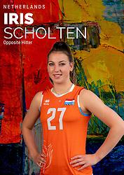 Iris Scholten of Netherlands, Photoshoot selection of Orange women's volleybal team season 2021on may 12, 2021 in Arnhem, Netherlands (Photo by RHF Agency/Ronald Hoogendoorn)